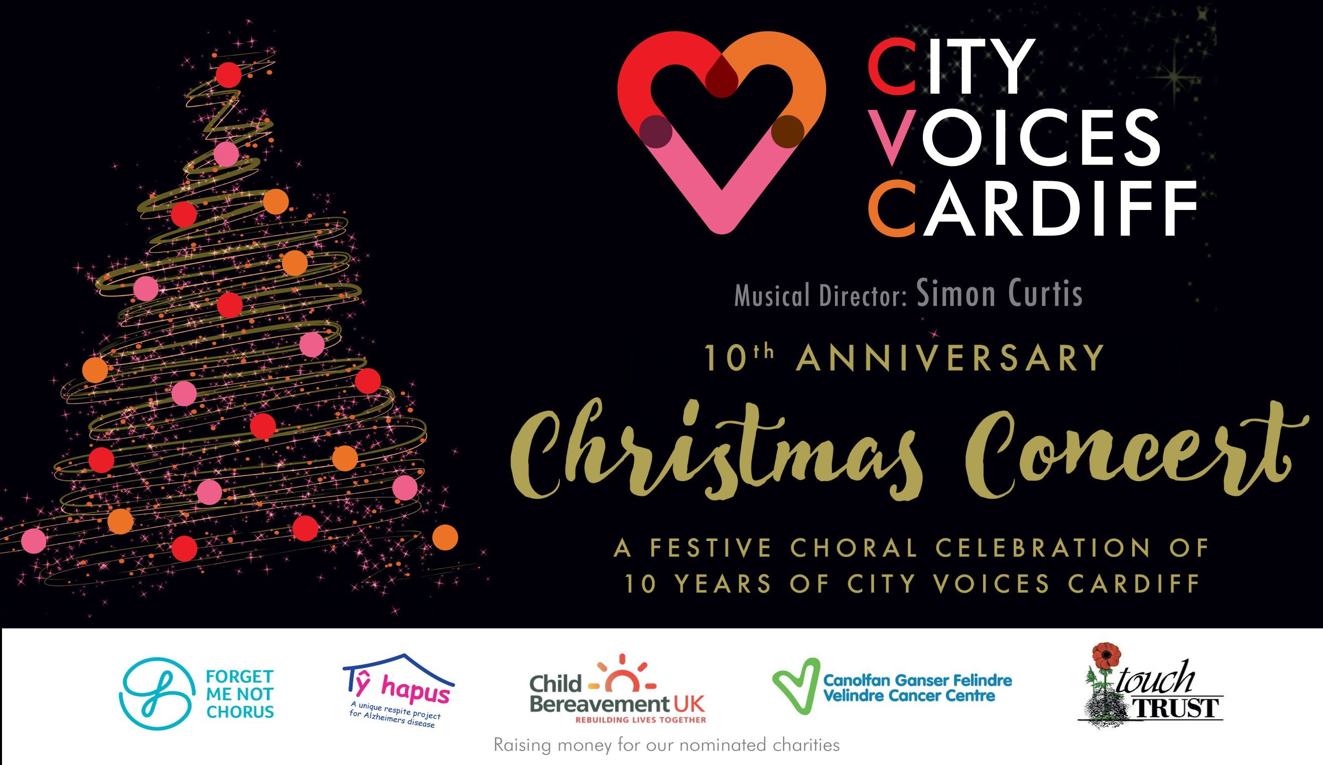 Christmas Concerts Near Me.City Voices Cardiff 10th Anniversary Christmas Concert For